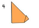 Котенок оригами
